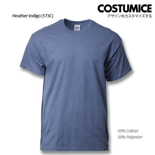 Costumice Design Ultra Cotton T-Shirt-Heather Indigo