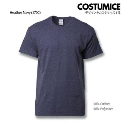 Costumice Design Ultra Cotton T-Shirt-Heather Navy