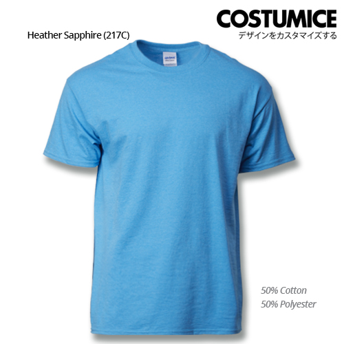 Costumice Design Ultra Cotton T-Shirt-Heather Sapphire