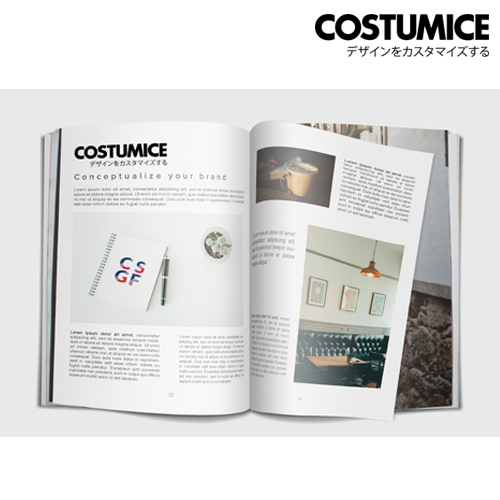 Costumice Design A4 Booklet 4