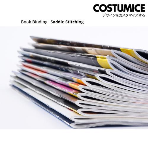 Costumice Design Booklet Book Binding-Saddle Stitching