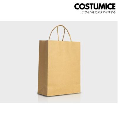Costumice Design brown kraft medium size paper bag