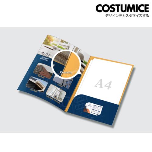 Costumice Design A4 Corporate Folder 1