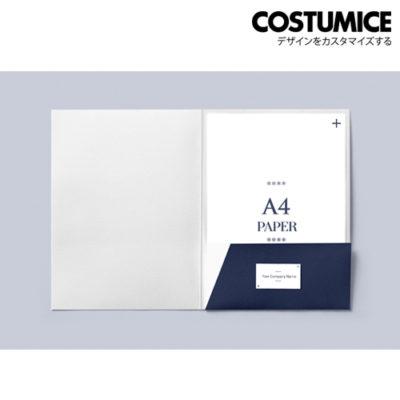 Costumice design A4 corporate Folder with spine 1