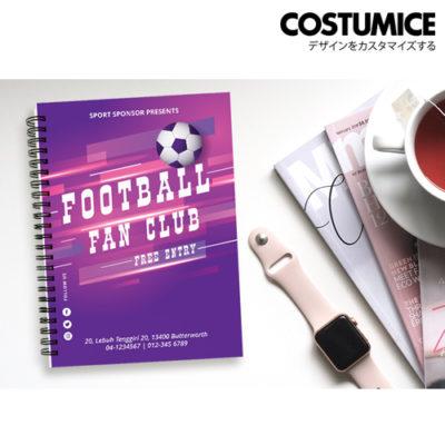 Costumice Design A5 Hard Cover Note Book 4