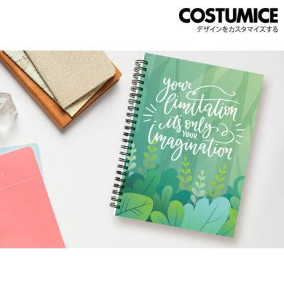 Costumice design A5 soft cover note Book 1