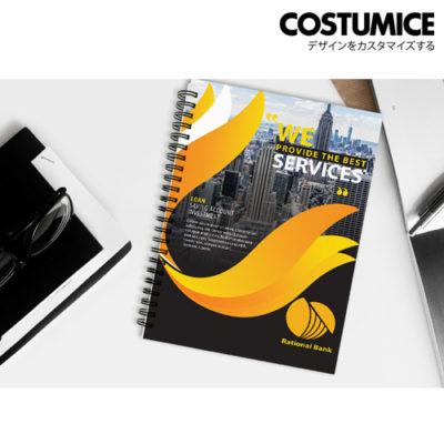 Costumice design A5 soft cover note Book 4