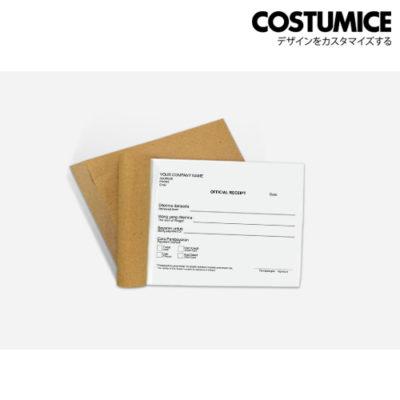 Costumice design medium size Multipurpose bill book 1