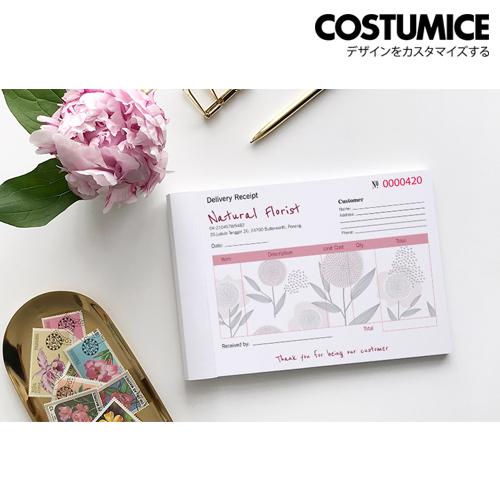 Costumice Design Medium Size Multipurpose Bill Book 2