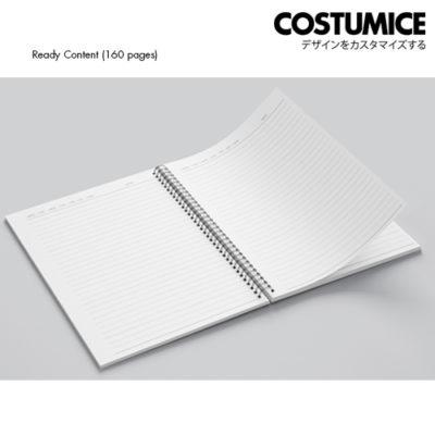 Costumice Design Note Book Ready Content