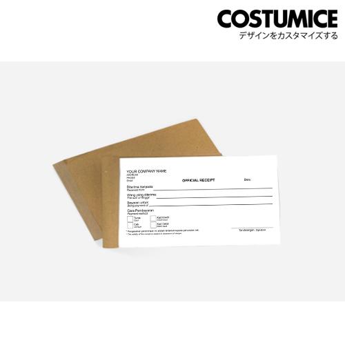 Costumice Design Receipt Book 3