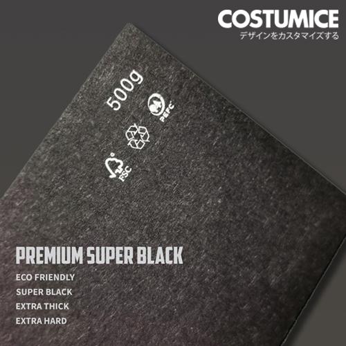 Costumcie Design Premium Name Card Printing 500Gsm Premium Super Black Card 2