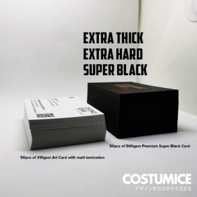 Costumice Design 500Gsm Premium Super Black Card 3