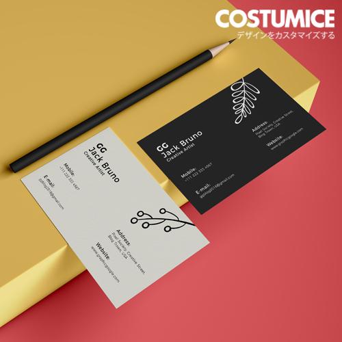 Costumice Design Matt Laminated Name Card 4