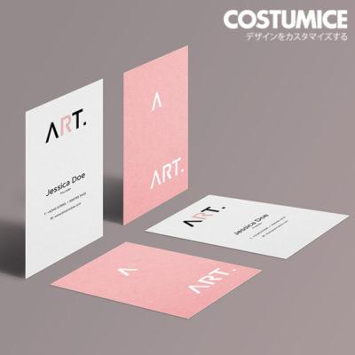 Costumice Design Matt Laminated Name Card 5