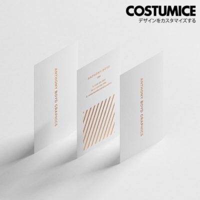 Costumice Design Matt Laminated Name Card 6