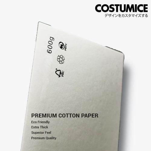 Costumice Design 600Gsm Hot Stamped Cotton Paper 2