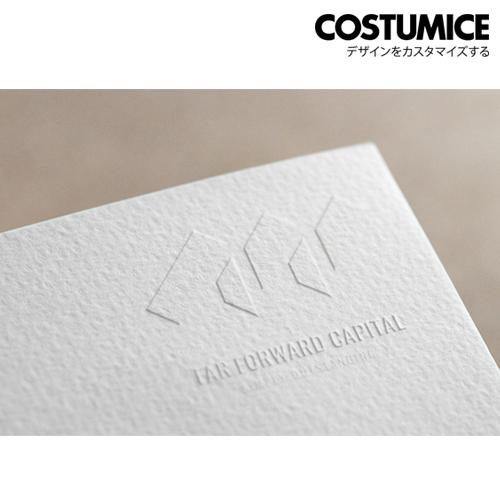 Costumice Design Embossed Name Card 1