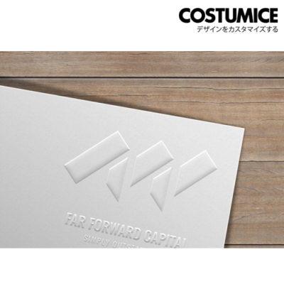 Costumice Design Embossed Name Card 3