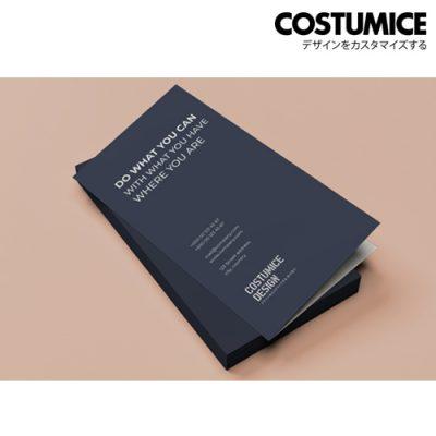 costumice design folded name card 1
