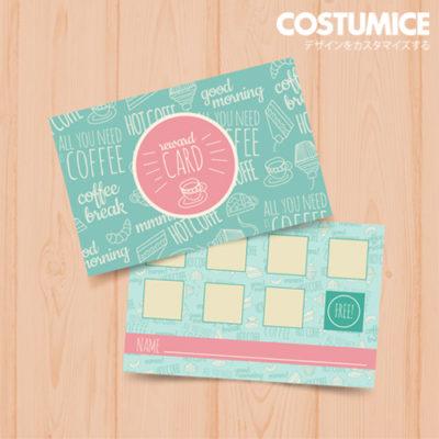 Costumice Design Loyalty Card 6