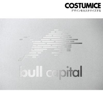 Costumice Design Metalic Foil Name Card 1