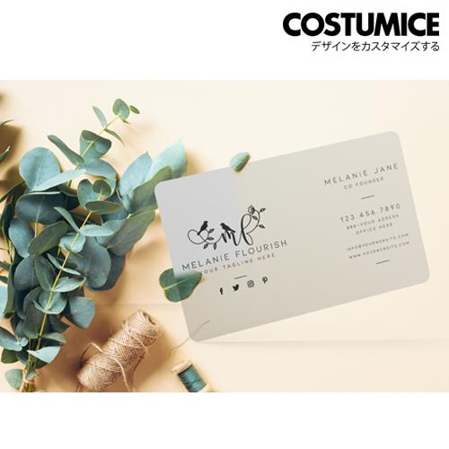 Costumice Design Transparent Pvc Card 4