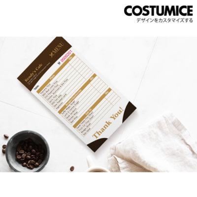 Costumice Design Bill Book Category-Lr