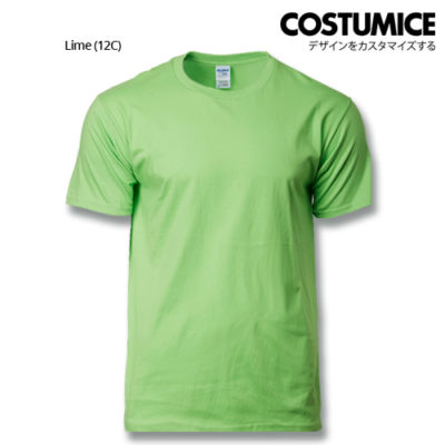 costumice design premium cotton t-shirt-Lime