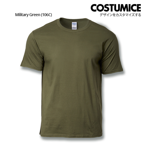 costumice design premium cotton t-shirt-Military Green