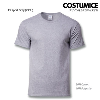 costumice design premium cotton t-shirt-RS Sport grey