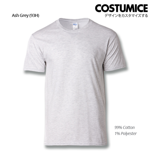 costumice design premium cotton t-shirt-ash grey
