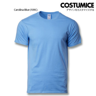 costumice design premium cotton t-shirt-carolina blue