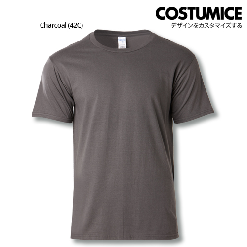 costumice design premium cotton t-shirt-charcoal