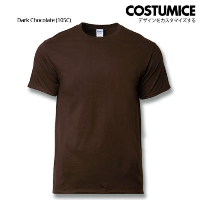 costumice design premium cotton t-shirt-dark chocolate