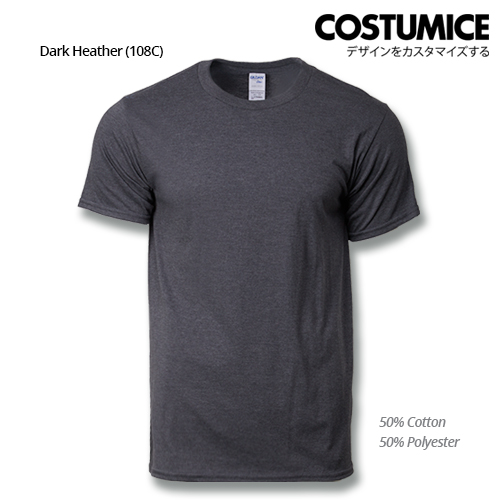 costumice design premium cotton t-shirt-dark heather