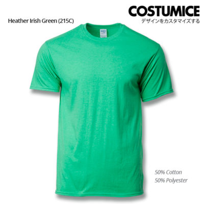 costumice design premium cotton t-shirt-heather irish green