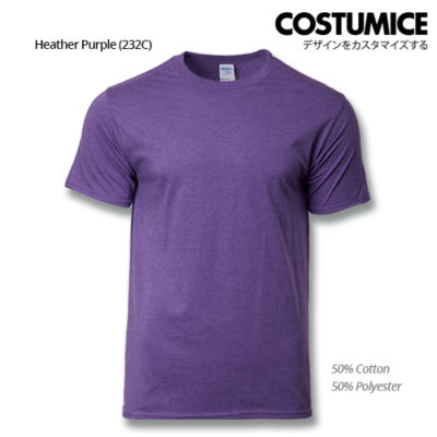 costumice design premium cotton t-shirt-heather purple