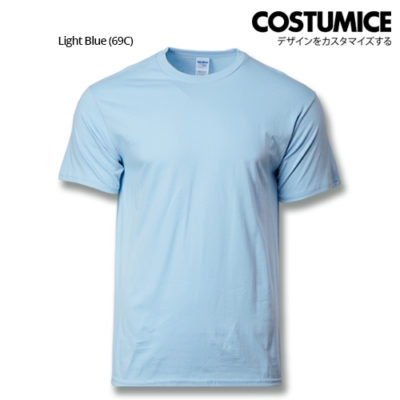 costumice design premium cotton t-shirt-light blue