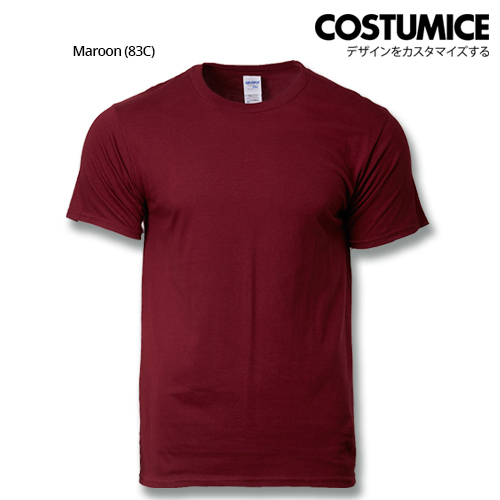 costumice design premium cotton t-shirt-maroon