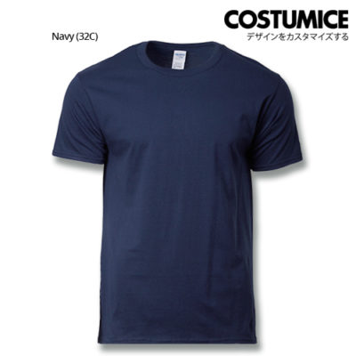 costumice design premium cotton t-shirt-navy