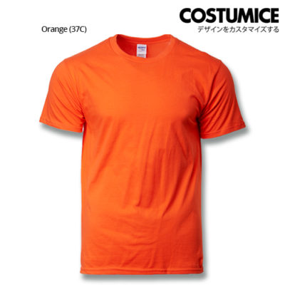 costumice design premium cotton t-shirt-orange