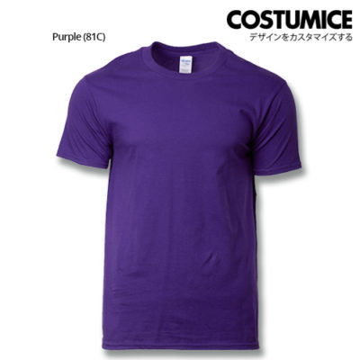 costumice design premium cotton t-shirt-purple