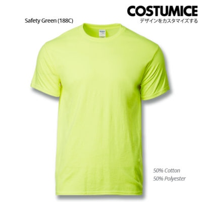 costumice design premium cotton t-shirt-safety-green