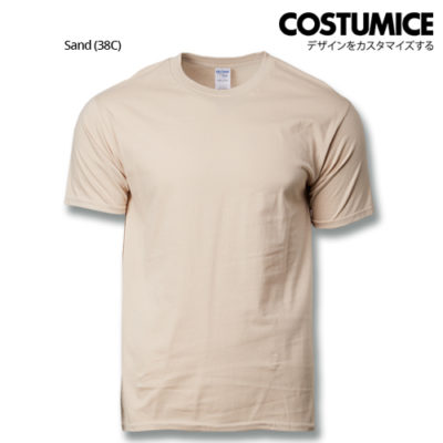 costumice design premium cotton t-shirt-sand