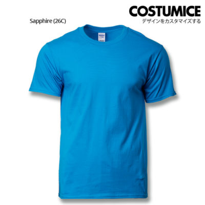 Costumice Design Premium Cotton T-Shirt-Sapphire