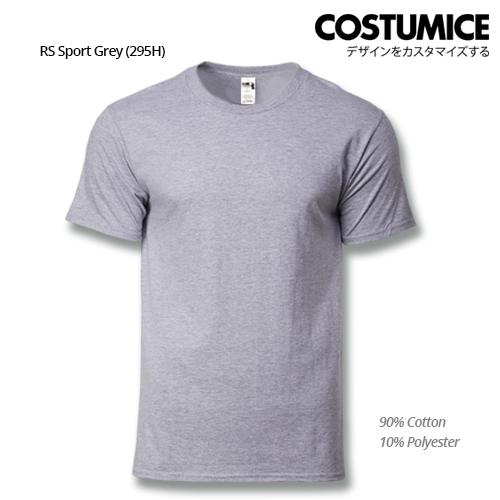 Costumice Design Heavy Cotton T-Shirt-Rs Sport Grey