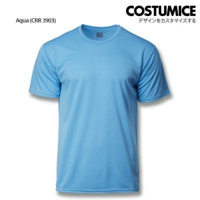 Costumice Design Quick Dry Plus+ Performance T-Shirt-Aqua