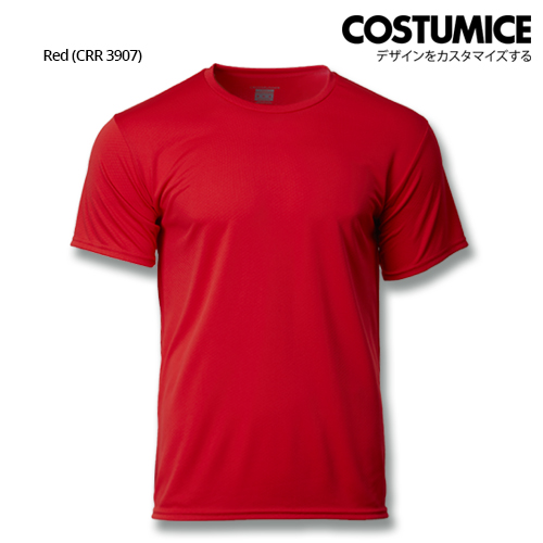 Costumice Design Quick Dry Plus+ Performance T-Shirt-Red