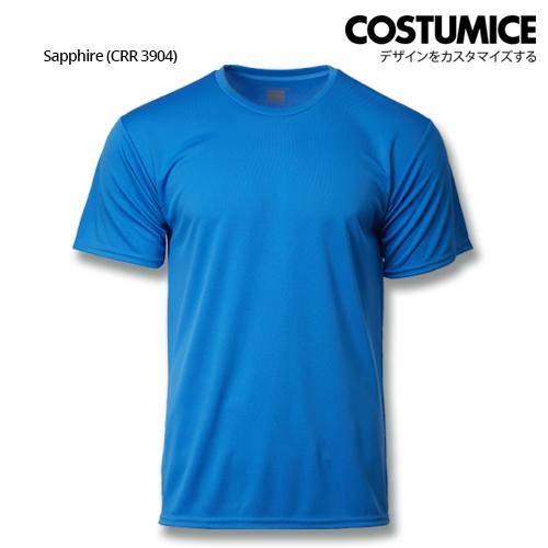 Costumice Design Quick Dry Plus+ Performance T-Shirt-Sapphire
